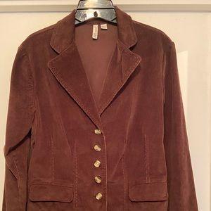 Women's corduroy blazer